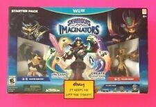 ❤️Skylanders Imaginators: Starter Pack Wii U New Sealed King Pen Golden Queen❤️