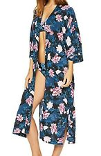 NWT Seafolly Women's Moonflower Kimono Cover Up, Size Large