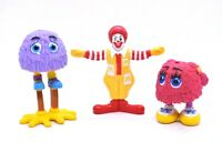 McDonald's Ronald McDonald PVC Toy Figure Happy Meal  VTG Vintage 1995 Lot of 3