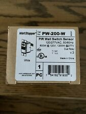 WattStopper PW-200-W PIR Wall Switch Sensor, 120/277VAC
