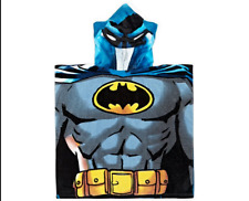 Batman Kid's 60x120cm Hooded Towel Bath Time Fun With Superhero  Warner Brothers