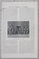 1901 PRINT THE ROYAL MARINES FOR THE OPHIR NAMED LIEUTENANT RAIT MAJOR CLARKE