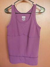 New Balance Purple Sleeveless Tank Top Women's Size Large Revelution ini motion