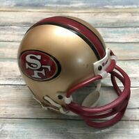 San Francisco 49ers (64-95 Era) Riddell Mini Helmet Original WITH Riddell Logos