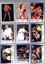 KAYO BOXING CARDS FULL SET 250 CARDS MINT ISSUED 1991 USA ISSUE