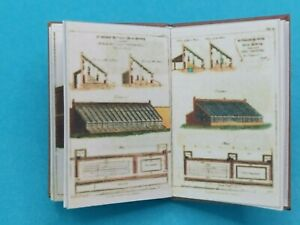 1:12 Scale Book, HOTHOUSES AND GREENHOUSES 1812 , Crafted By Ken Blythe