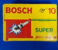 Bosch Super FR7DCX Spark Plugs Box Of 10 Brand New Open Box