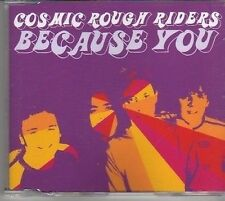 (BM758) Cosmic Rough Riders, Because You - 2003 CD