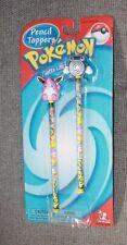 NIB Pokemon Wigglytuff & Poliwhirl Pencil Toppers Toy Island Nintendo new