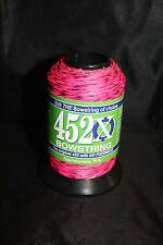 Pink & Black 1/4lb BCY 452X Bowstring Material Bow String Making
