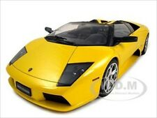 LAMBORGHINI MURCIELAGO ROADSTER YELLOW DIECAST MODEL CAR 1:12 BY AUTOART 12081