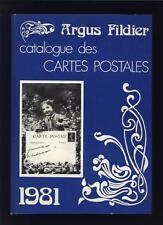 █ ARGUS FILDIER Catalogue Des Cartes Postales 1981 (6e Année) de André FILDIER █