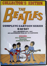 DVD 1960's BEATLES Cartoons TV Show Collectors Gift Set with Synopsis Booklet