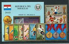 Paraguay 2465/74 Block 207 postfrisch / Fußball ..........................1/2093