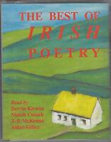 The Best Of Irish Poetry Cassette Audio Book Joyce Yeats Heaney Wilde Montague