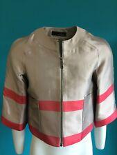 Amanda Wakeley Ladies Beige Silk Jacket UK 8