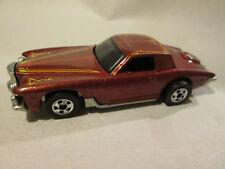1979 Hot Wheels Stutz Blackhawk Car #1126 (Metal Flake Red/Brown 1/64) Mint