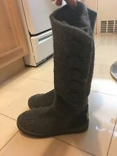 UGG Australia Classic Cardy Authentic Boots in Gray Women's Size 6