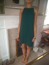 H&M Dress Dark Green Size 8.