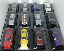 Aoshima 1/64 JDM Collection Set of 12 * Nissan Skyline-Mazda RX5-Toyota & MORE
