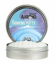 "ION GLOW IN THE DARK Crazy Aaron's Thinking Putty New Large 4"" tin 3.2oz"