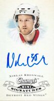 2008-09 Upper Deck Champ's Mini AUTO CS-NK Niklas Kronwall Detroit Red Wings