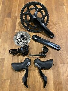 Shimano 105 5700 10-speed compact groupset (excludes brakes), Used