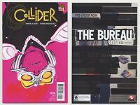 Collider #1 (NM 9.4) 1st print 2013 DC Vertigo FBP Federal Bureau of Physics