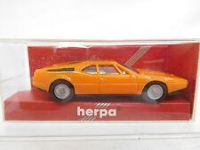 eso-8027Herpa 1:87 BMW M1 orangegelb sehr guter Zustand