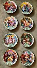 Bradford Exchange Musical Wizard Of Oz Plates. Full Set Of 8!