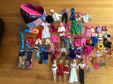 Mixed Lot of Vintage Barbies/Clothes/Toys/Bags /Etc-2 Barbies 1966 & 1 is 1968