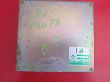 ECU ECM Computer Box for 1990 1991 Nissan 240SX 2.4L CA Manual (A11-B17 G13)