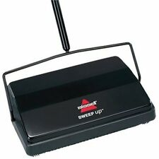 Bissell Swift Dual Brush Sweeper Broom Cordless Carpet Floor Cleaner Hotel Black