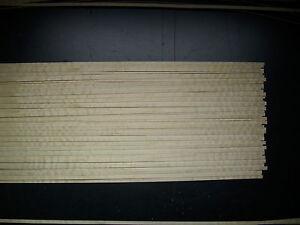 30 Holzleisten Riegelahorn 1000 x 6 x 0,6 mm