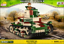 COBI Vickers Mk. E Type B (2520) - 382 elem. - pre-WW2 British light tank