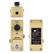 MOSKY Noise Gate Noise Reduction Suppressor Mini Guitar Effect Pedal 1/4″ Jack