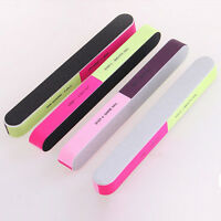 6 Ways Nail Art Manicure Sanding Buffer Files Polish JB