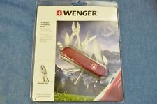 c.1990s VTG WENGER Tradesman Swiss Army Knife New in Clamshell Blister-Pack NOS