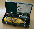 Vintage 1950s MSA Air Cub Breathing Apparatus firefighting rescue Mask Tank Case