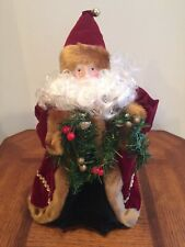 Vintage Jcpenny Santa Christmas Tree Topper