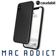Caudabe The Veil XT Ultra Thin Minimalist Case For iPhone XS Max - BLACK