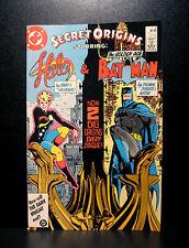 COMICS: DC: Secret Origins #6 (1980s), Batman/Halo  - RARE (superman)