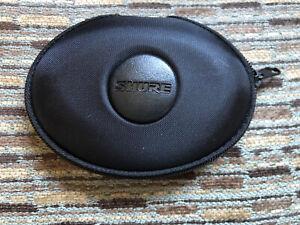 SHURE EAHCASE CASE, BLACK, NEW