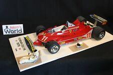 Tamiya (built kit) Ferrari 312T4 1979 1:12 #11 Jody Scheckter (RSA) (PJBB)