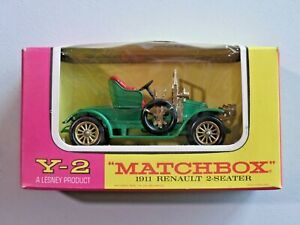 Matchbox Models of Yesteryear Y-2 1911 Renault 2-Seater Mint in Box 1:40 Scale