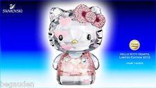 Swarovski Hello Kitty Heart Limited 2012 Crystal Figurine -1142934 - Retired
