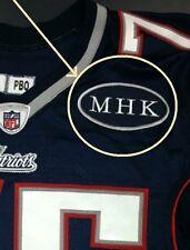 New England Patriots Dedicate 2011 Season To Myra Kraft with MHK Jerseys Patch
