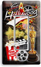 HOLLYWOOD TV ROOM MOVIE STARS THEATER 1 GANG GFCI LIGHT SWITCH PLATES HOME DECOR