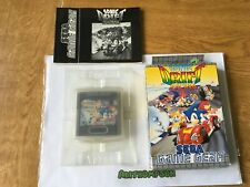 Sonic drift racing Sega game gear boxed complete with manual