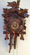 (New!) Anton Schneider Cuckoo Clock 14-Inch 30-Hour 5-Leaf 100/9